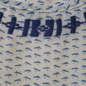 Skies Are Blue Tops - Beautiful cap sleeve shirt
